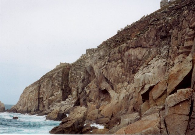 The cliffs of Landing Craft Bay