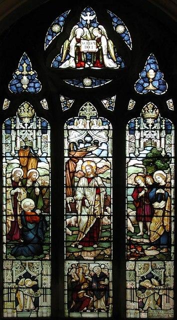 St Saviour, St George's Square, London SW1 - Window