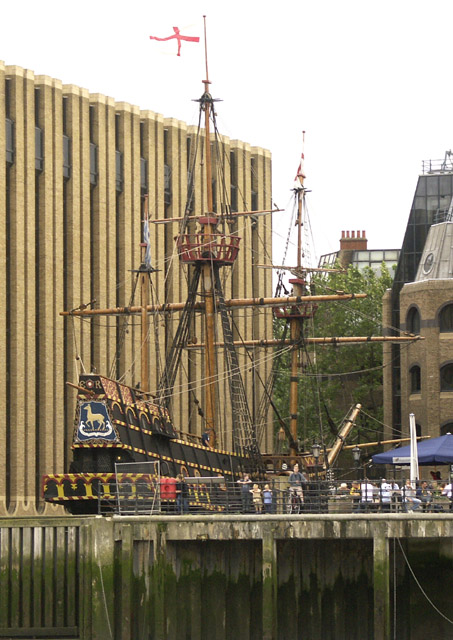 The Golden Hinde replica at Southwark