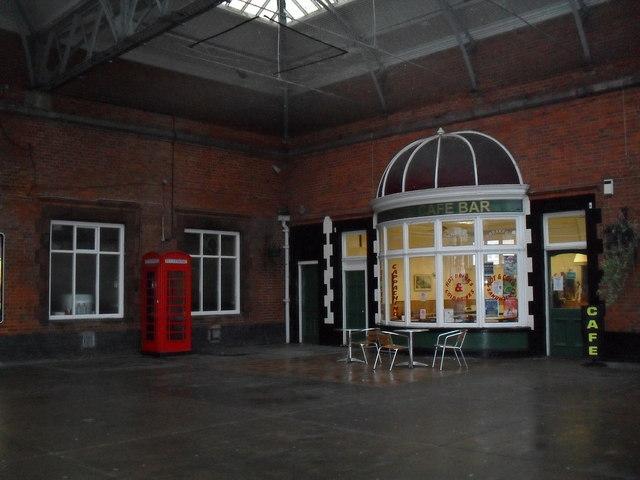 Café  on Bognor Station