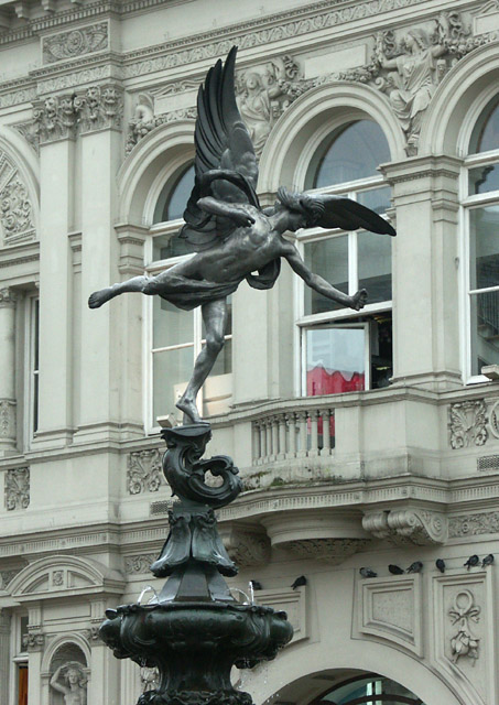 Anteros statue