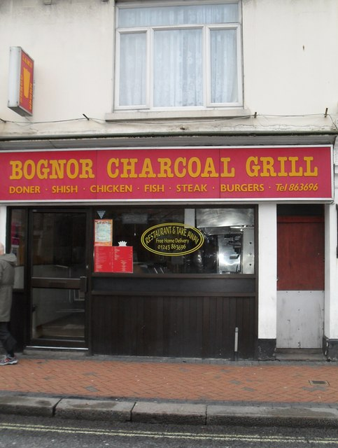 Bognor Charcoal Grill in Station Road
