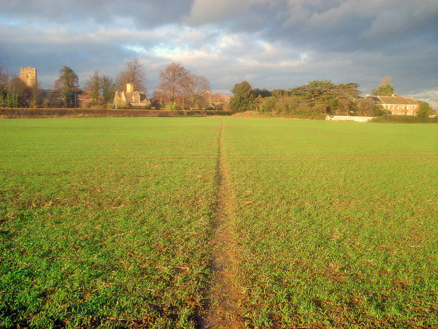 Footpath to Dumbleton