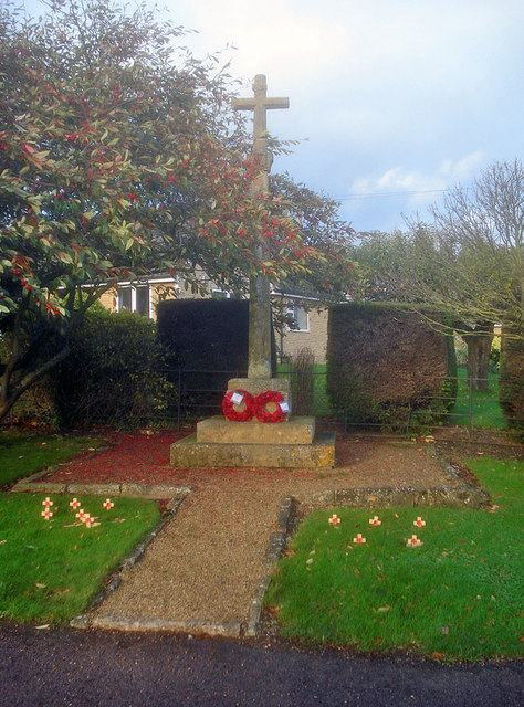 Dumbleton war memorial