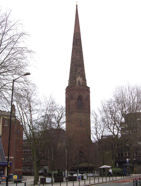 Christchurch Spire, Coventry