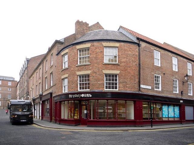 Corner of Fenkle Street and Low Friar Street