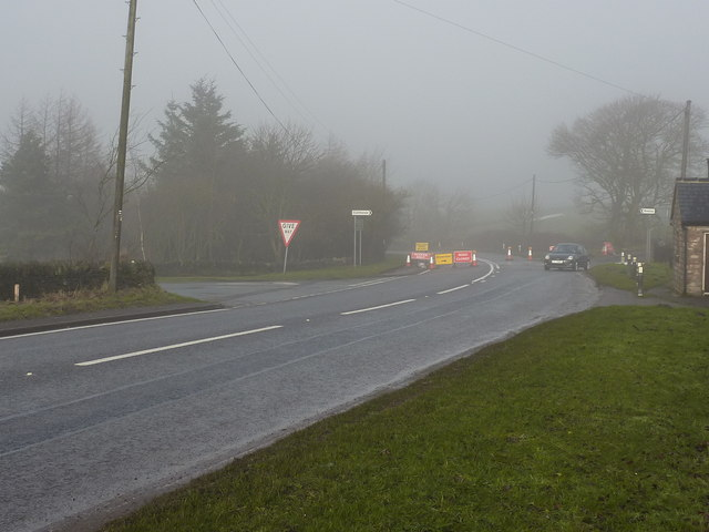 A619 closed from Wadshelf to the Robin Hood