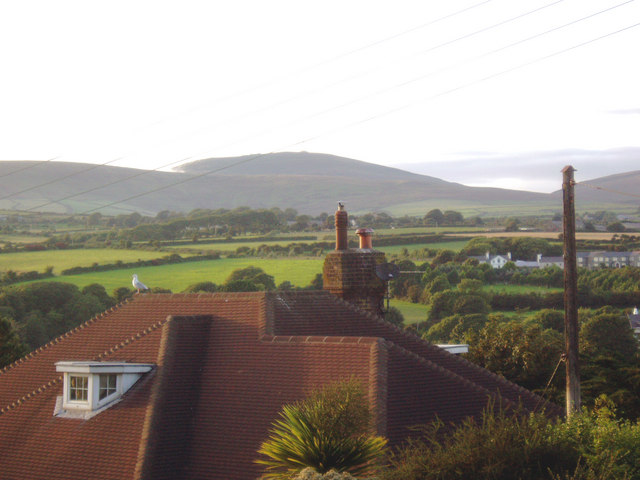 View towards Snaefell from Ramillies