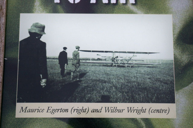 Maurice Egerton and Wilbur Wright