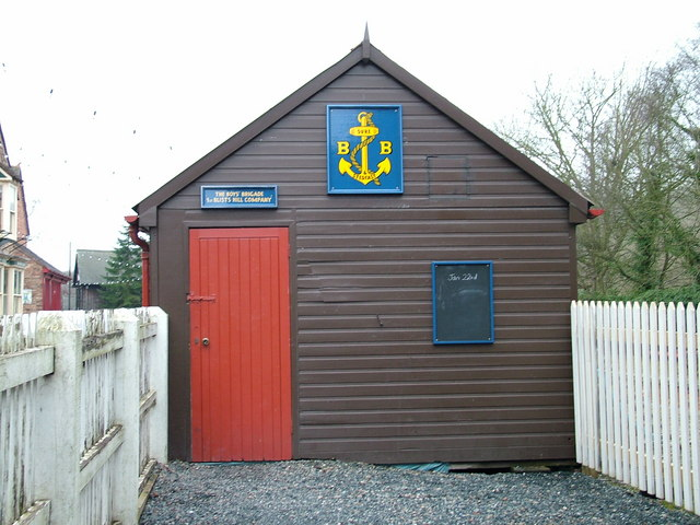 Boys' Brigade hut at Blists Hill Victorian Town