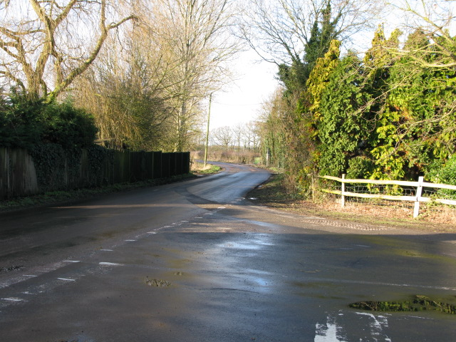 The road to Bliby at Chequertree