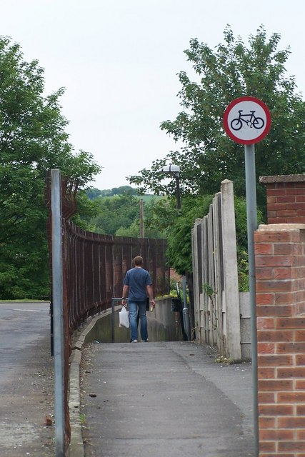 Footpath to Wynmoor Crescent, Brampton Bierlow