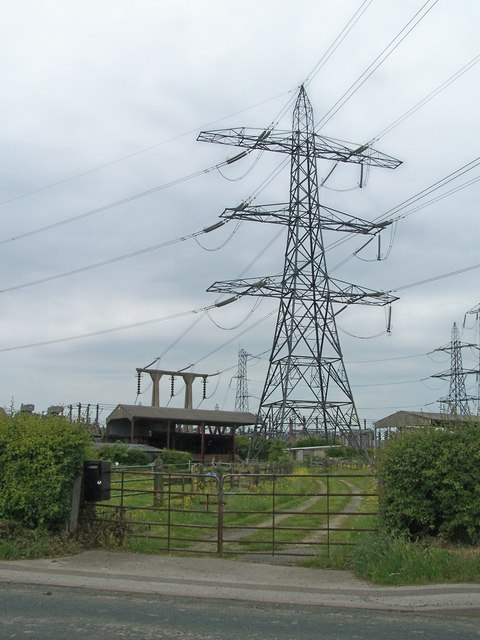 West Melton Electricity Sub-Station, Elsecar Road, West Melton, near Rotherham - 1