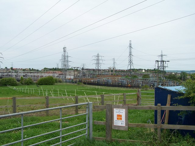 West Melton Electricity Sub-Station, Elsecar Road, West Melton, near Rotherham - 2