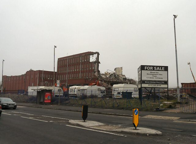 Most of Hyde Mill Gone