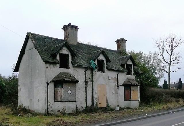 Derelict House, Goldthorn Hill, Wolverhampton