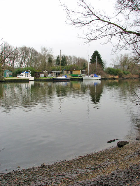 Boats and sheds by the River Yare