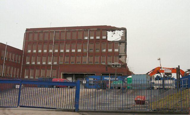 Hyde Mill Demolition