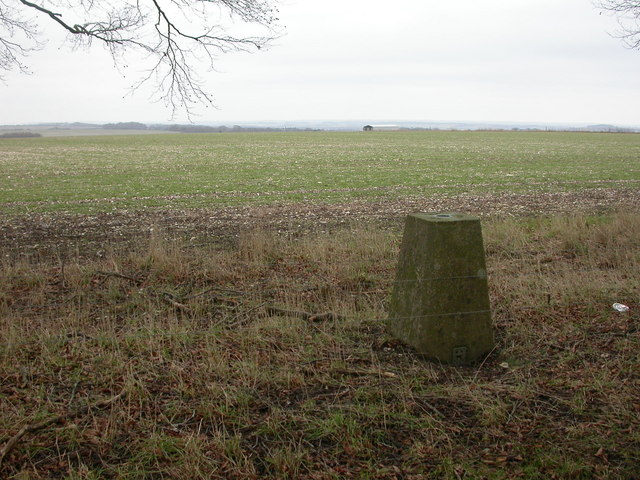 Knowle Hill, trig point