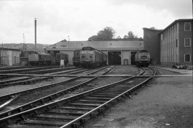 Bristol Bath Road locomotive depot