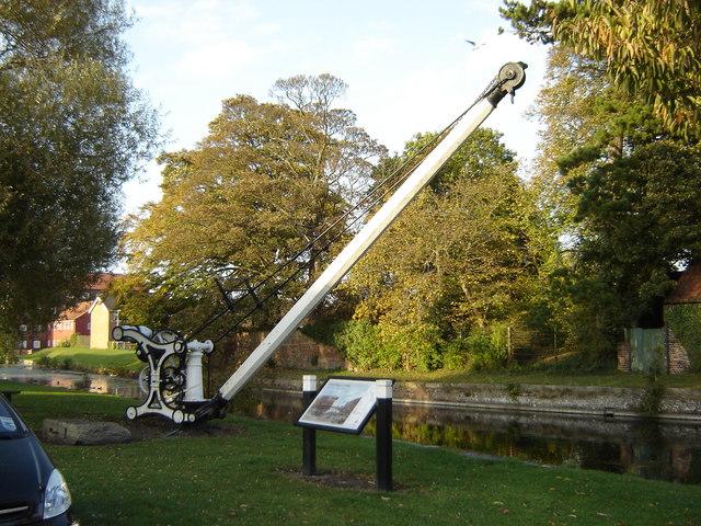 Restored  Crane