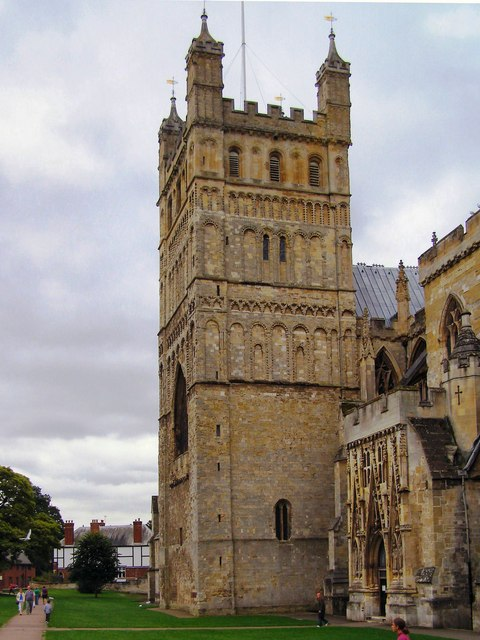 Exeter Cathedral, north front