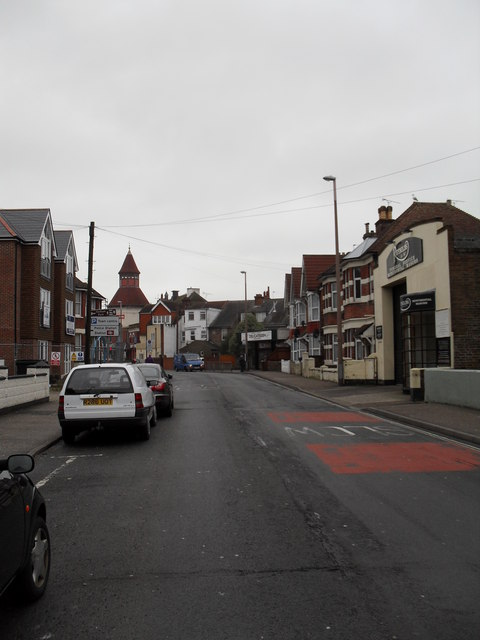 Looking from Longford Road towards the cinema