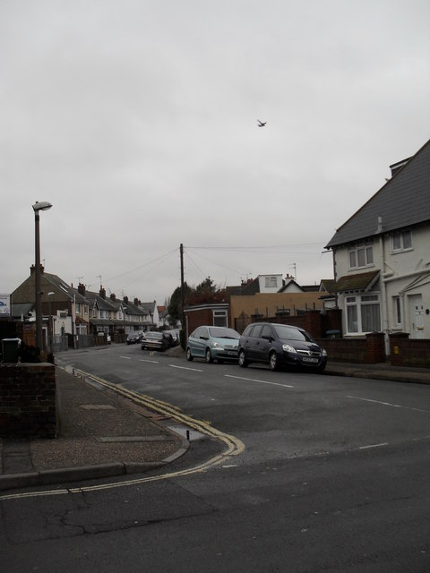Looking from Longford Road into Clifton Road