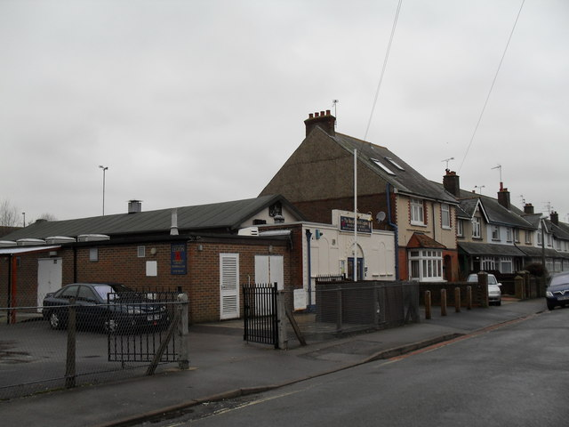 Approaching the British Legion Club in Clifton Road