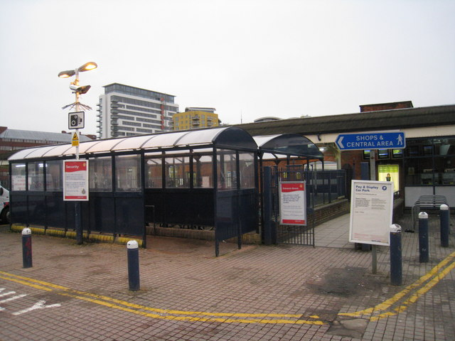 North entrance to Basingstoke station