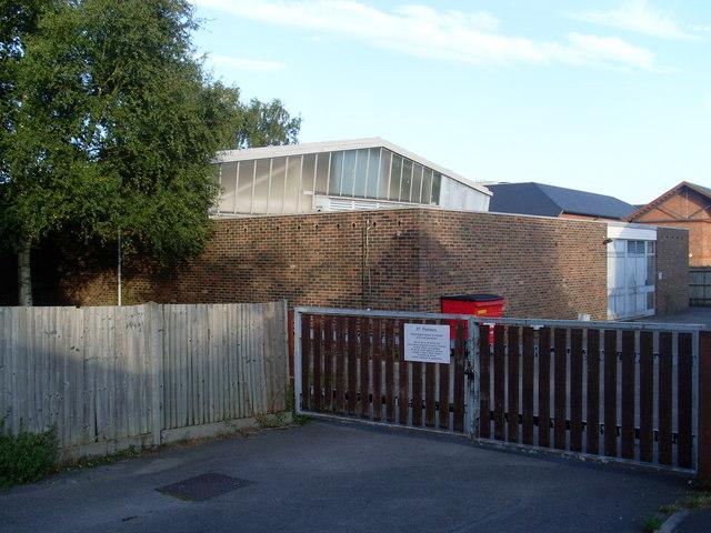 Telephone Exchange, Twyford, Berks