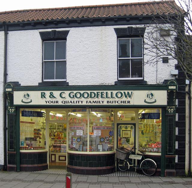 R & C Goodfellow Shop, Prestongate, Hessle