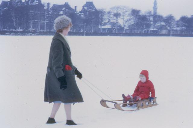 Snow on Savile Park, 1965