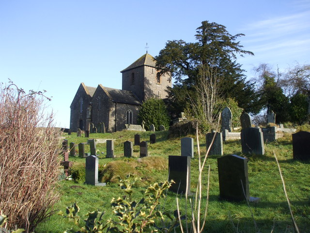 Church and churchyard, Penhow
