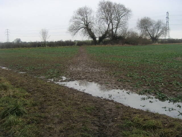 Footpath to Sparsey Bridge