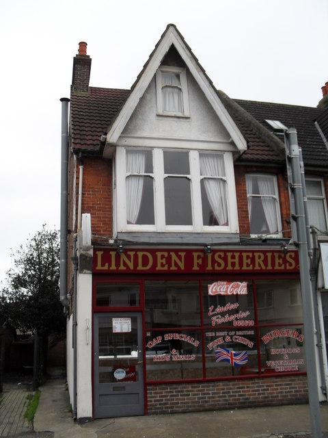 Chip shop in Linden Road