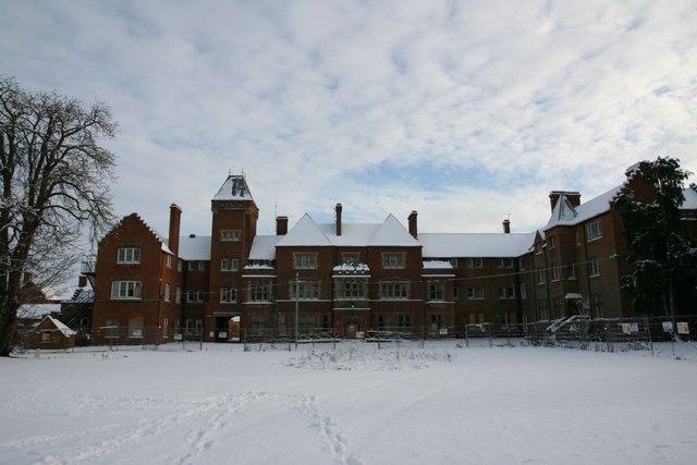 Fairmile in the snow