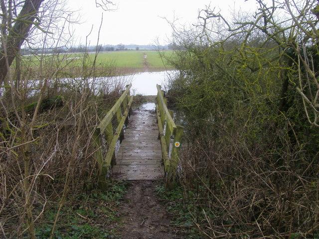 Footpath to Sparsey Bridge