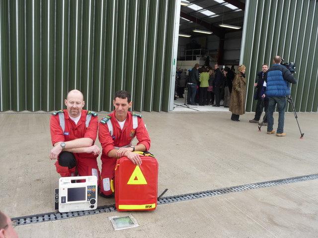 North Devon : Devon Air Ambulance, Steve Ford Airbase