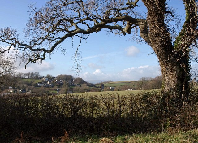 Oak framing view of Marldon