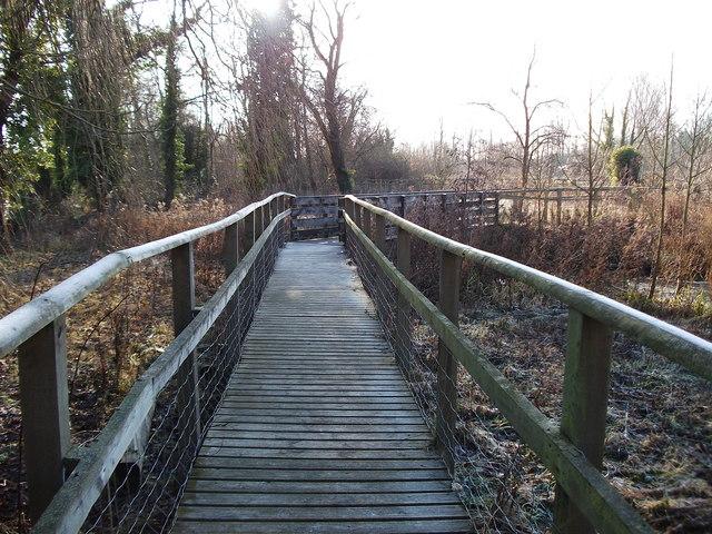 Upper Clatford - Raised Walkway