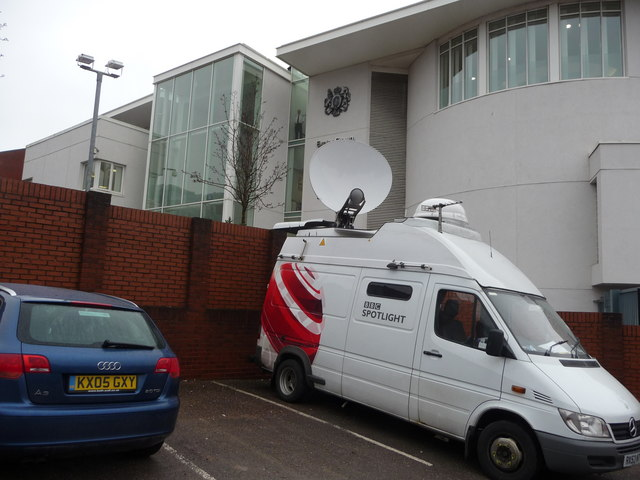 Exeter : BBC Spotlight SNG & Exeter Courts