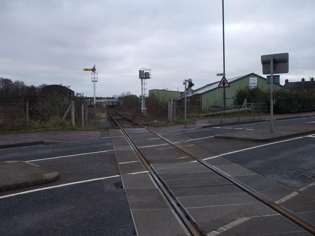 Level crossing, Lydney