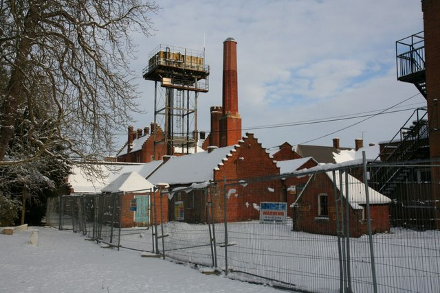 Chimney and tank