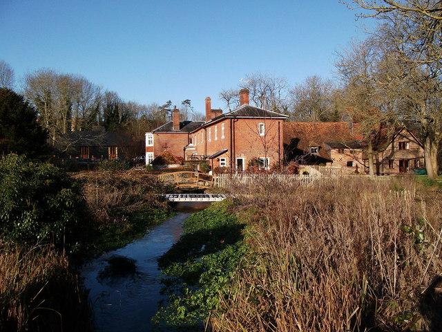 Upper Clatford - Rooksbury Mill