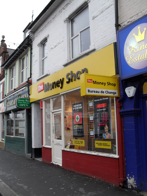 The Money Shop in Station Road