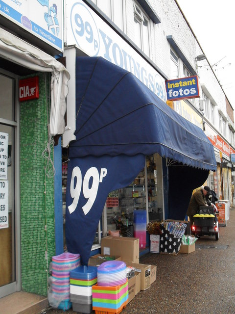 99p store in Station Road