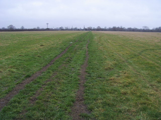 Track to Brook Farm