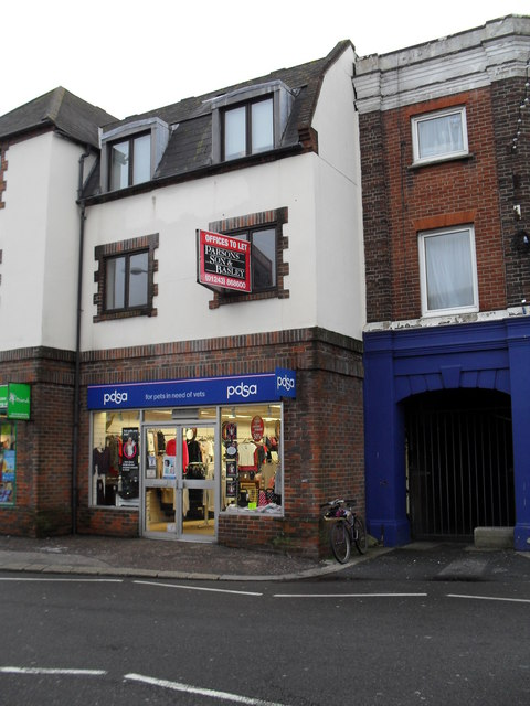 Charity shop in Sudley Road