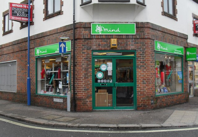 Charity shop at the junction of Sudley and London Roads